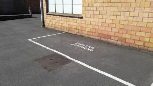 Parkeerplaats klanten